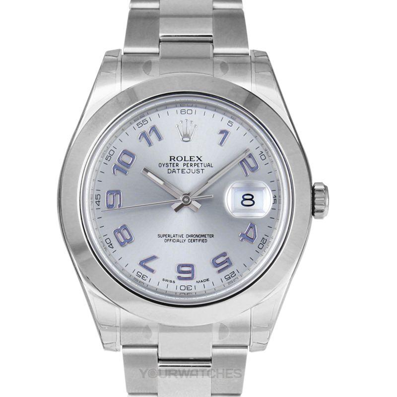 Rolex Datejust 116300/Silver Arab