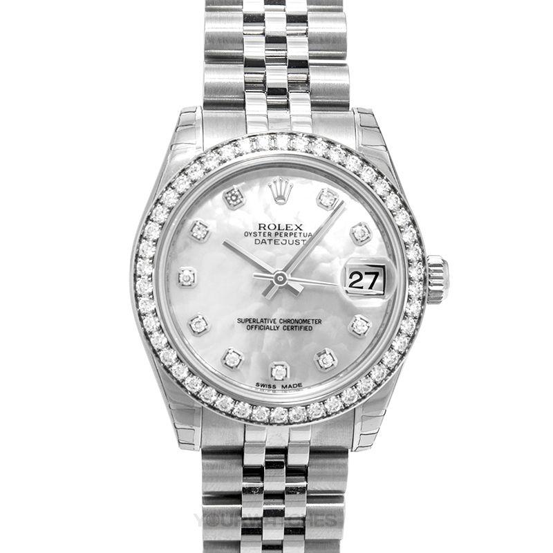 Rolex Lady Datejust 178384 white MOP G