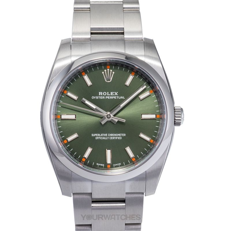 Rolex Oyster Perpetual 114200 Green