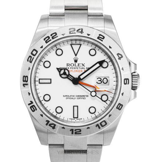 Rolex Explorer II 216570 White