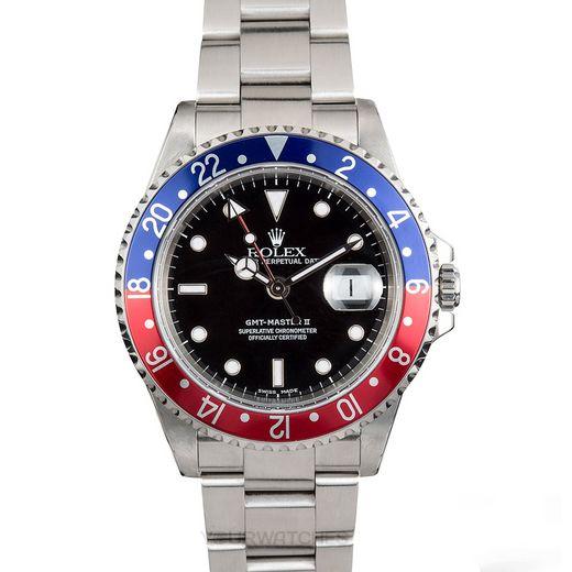 Rolex GMT Master II 16710 Blue Red
