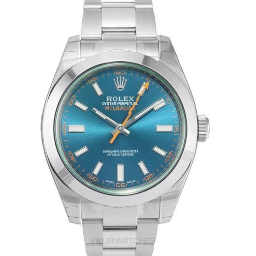 Rolex Milgauss 116400 GV Blue/GV-Z