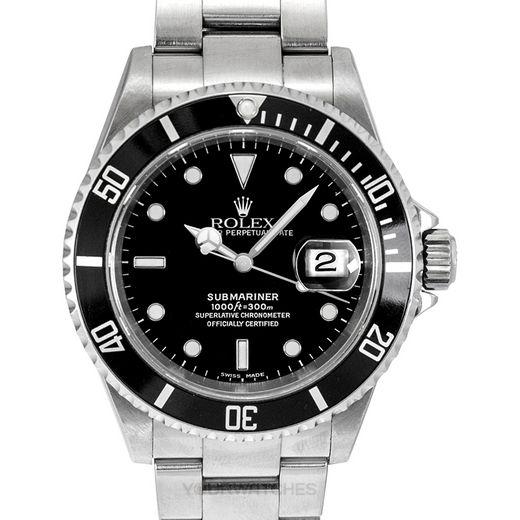 Rolex Submariner 16610 Black